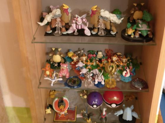 Pokémon-Figuren Sammlung