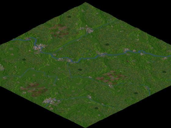 Meine Heimat als OpenTTD-Karte