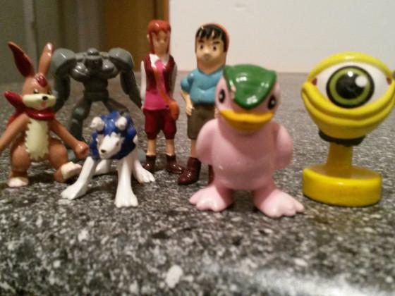 Monster Ranger Figuren