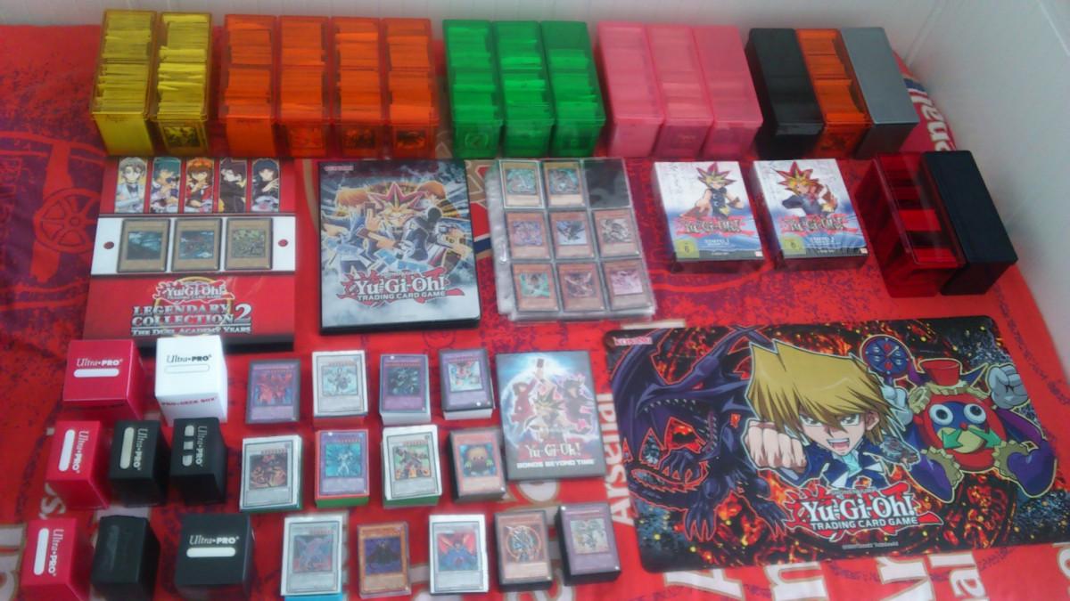IT'S TIME TO DUEL! Yu-Gi-Oh! Karten-Sammlung (Stand: 12. März 2017)