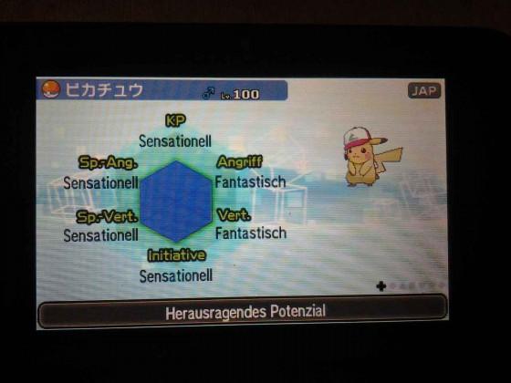Ash-Pikachu mit Hp eis legal!