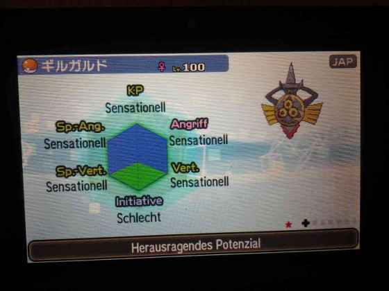 Shiny Schwert !