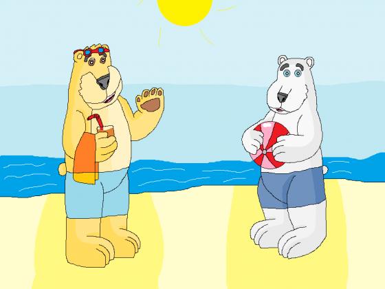 Bäriger Strandtag