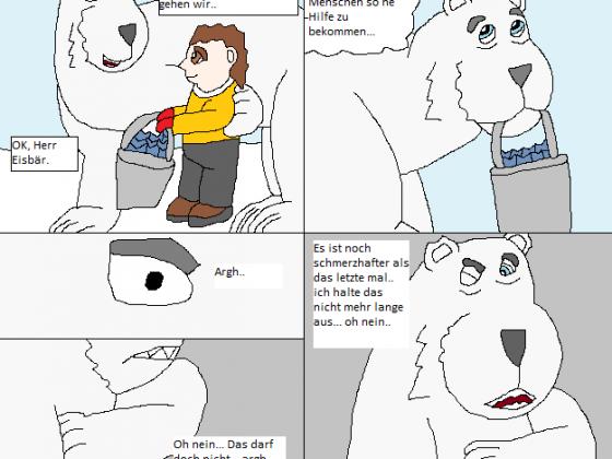 Der Grummelige weise Eisbär (2von3) Kurze Freundschaft