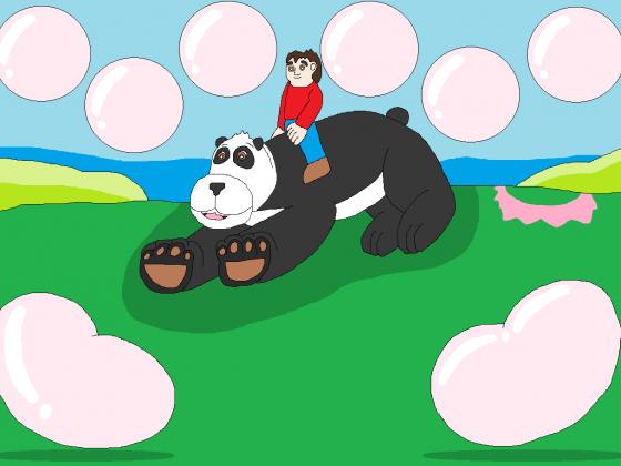 Lustiges spielchen mit dem lieben Panda