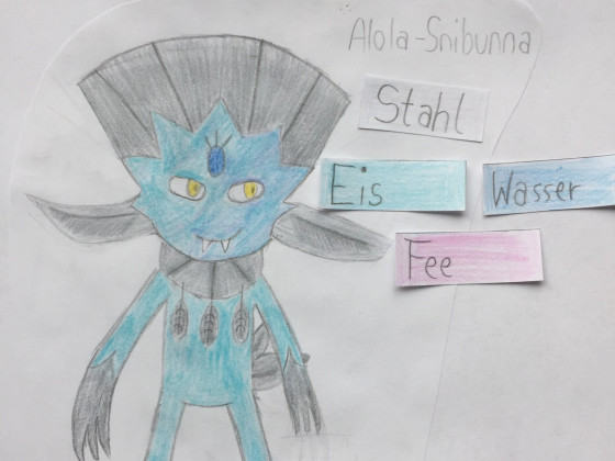 Mein erstes Pokémon-Bild