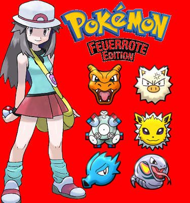 Pokémon Feuerrot Nuzlocke (beendet)