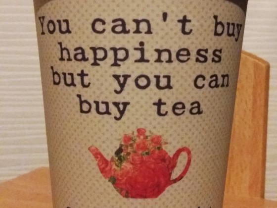 Tea is live, tea is love.