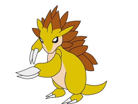 Daily Pokémon 28 - Sandamer
