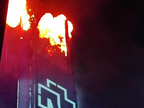 ... und endete im Feuer