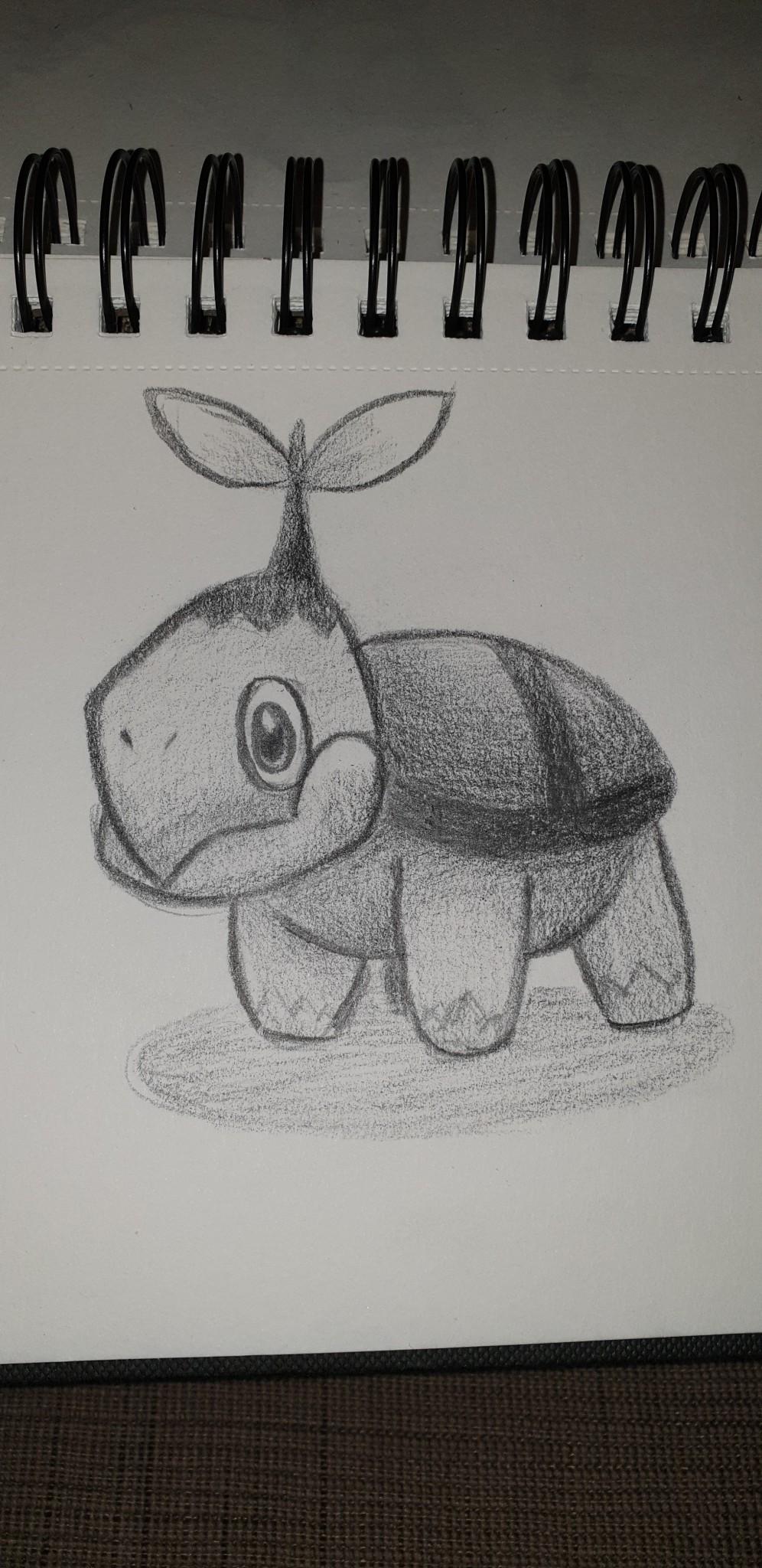 Fixe Zeichnung gegen die Langeweile :)