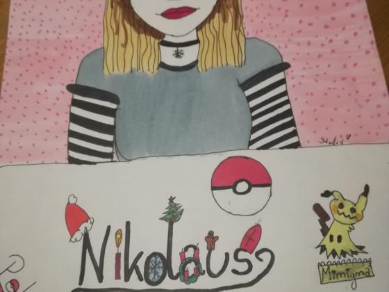 Nikolaus mit Pokemon <3