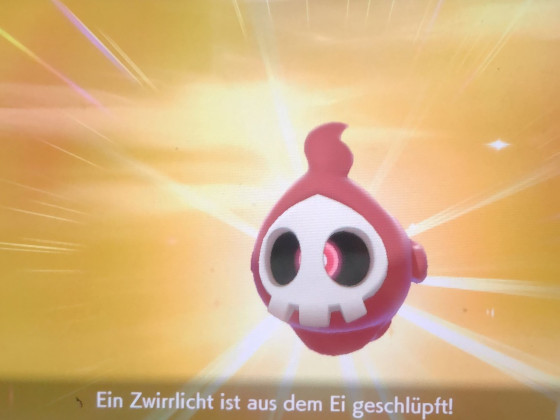 Shiny Zwirrlicht