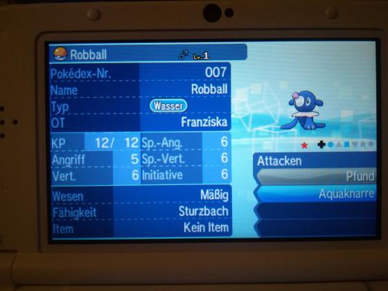 Shiny Robball #1