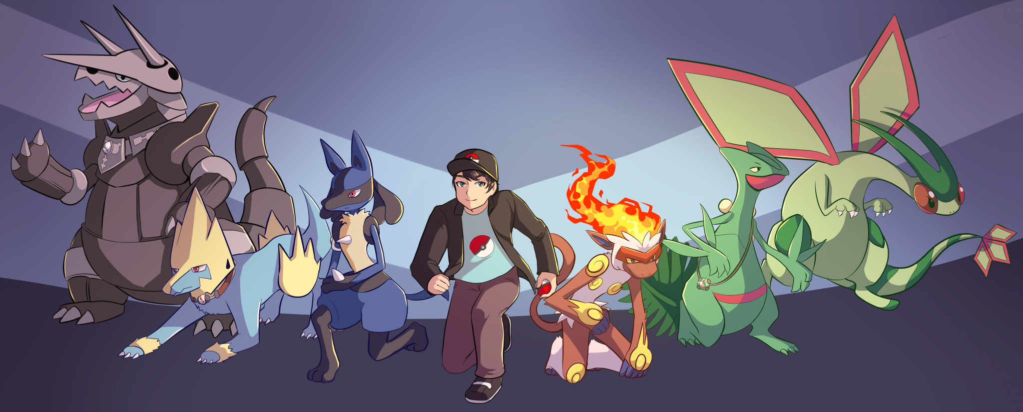 Hoenn-Team-Artwork by Dreamdust