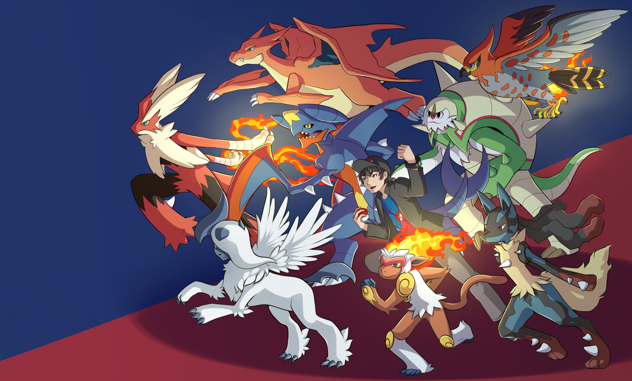 Kalos-Team-Artwork by Dreamdust
