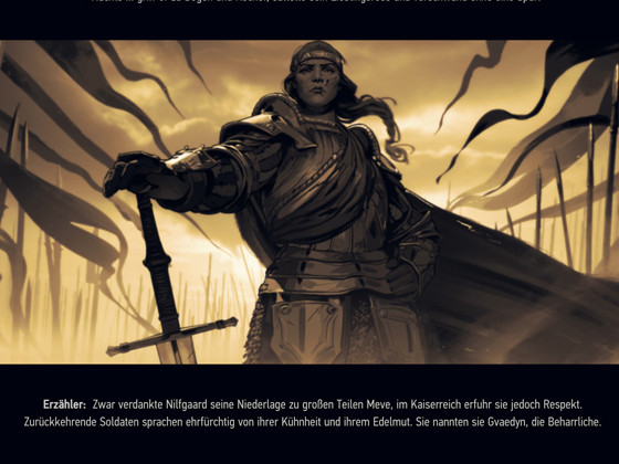 [Spoiler] Thronebreaker: The Witcher Tales - Endings