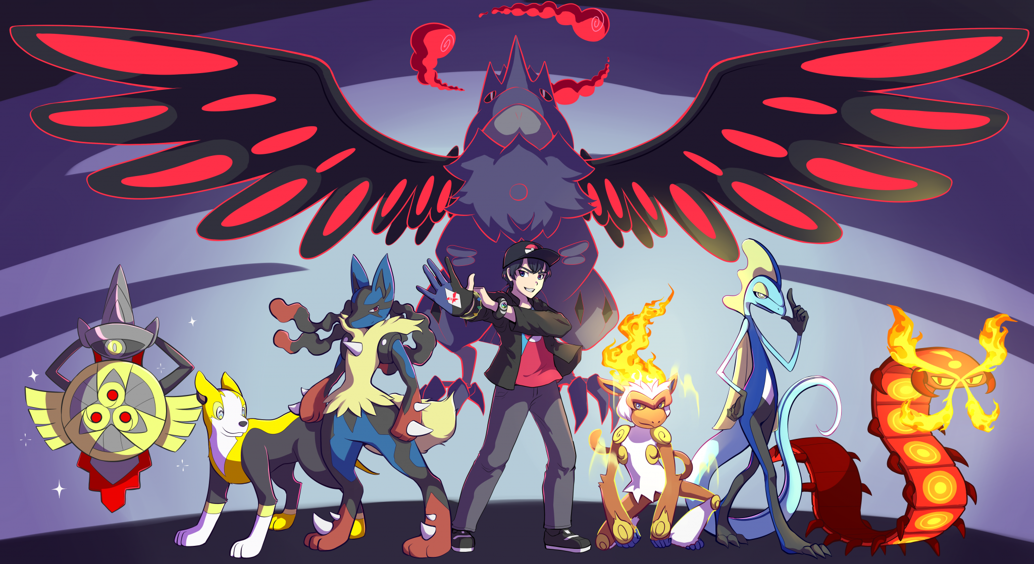 Galar-Team-Artwork by Dreamdust (ReUpload)