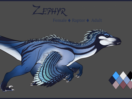 Zephyr ~ Reference Sheet