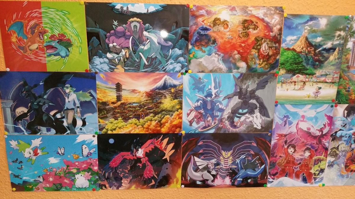 Pokémon-Artwork Wand