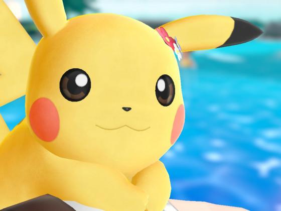 Pikachu freut sich