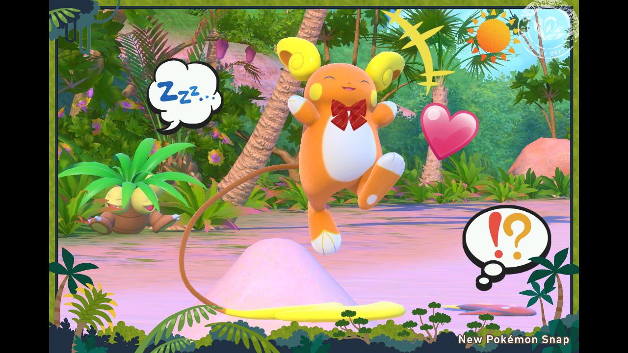 New Pokémon Snap - Tanzeinlage