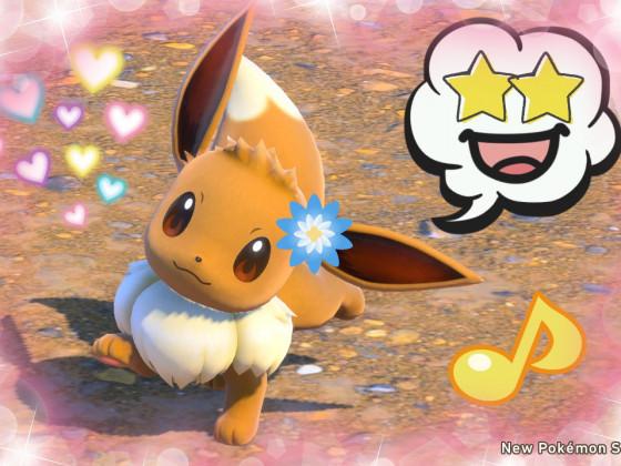New Pokémon Snap - Pfötchen