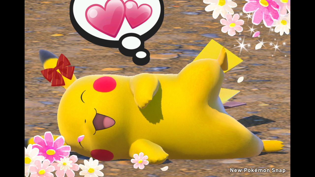 New Pokémon Snap - Runde Kugeln