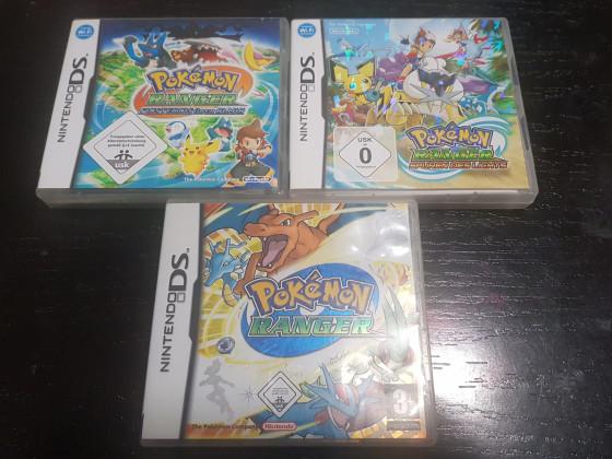 Pokémon Ranger Trilogie in OVP 🤩