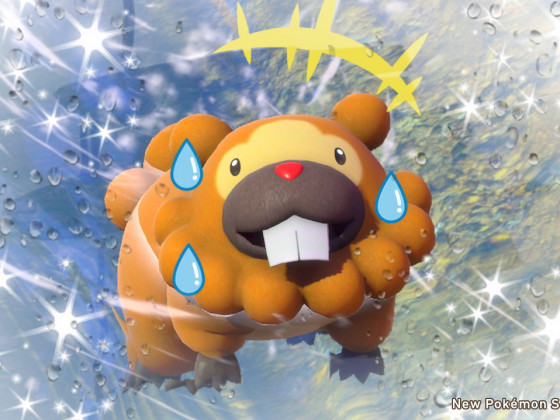 New Pokémon Snap - Schwimmtraining