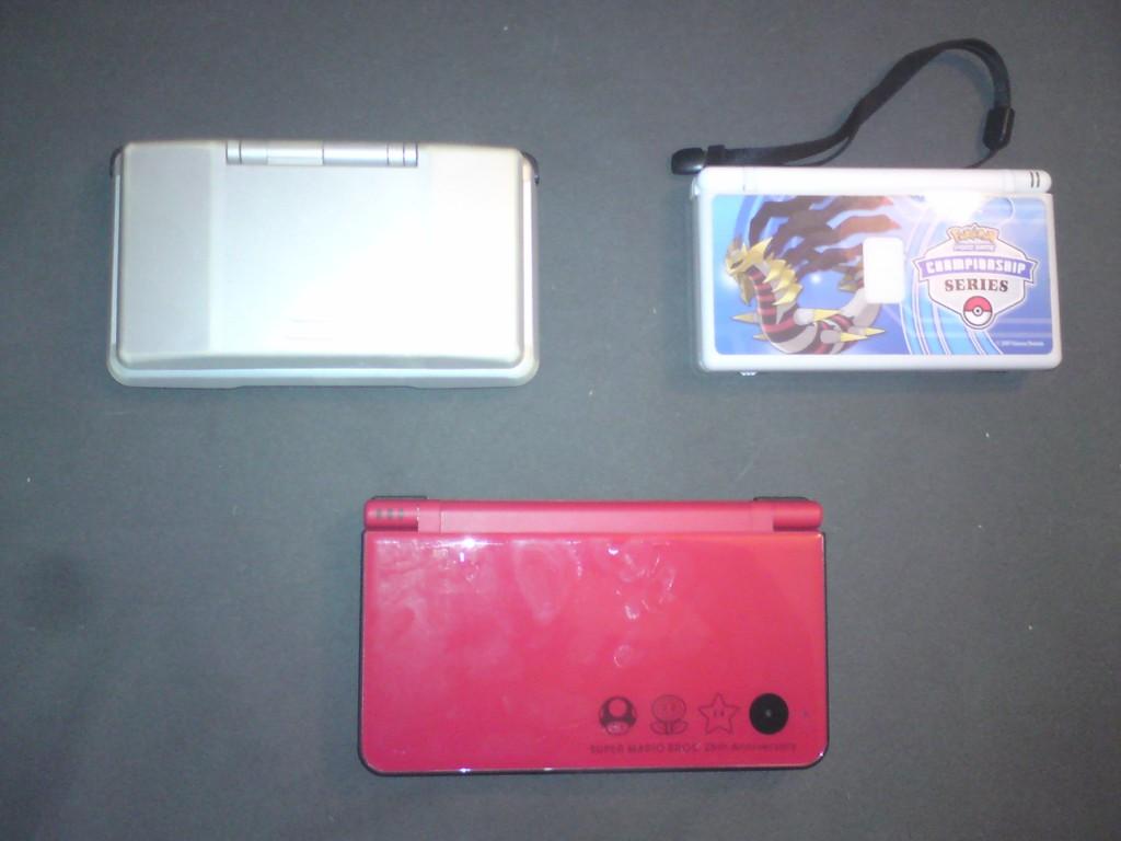 Das Triumvirat der Nintendo DS