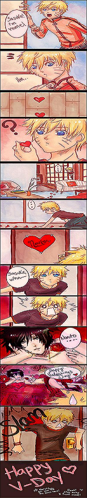 Sasukes Valentinstagsgeschenk
