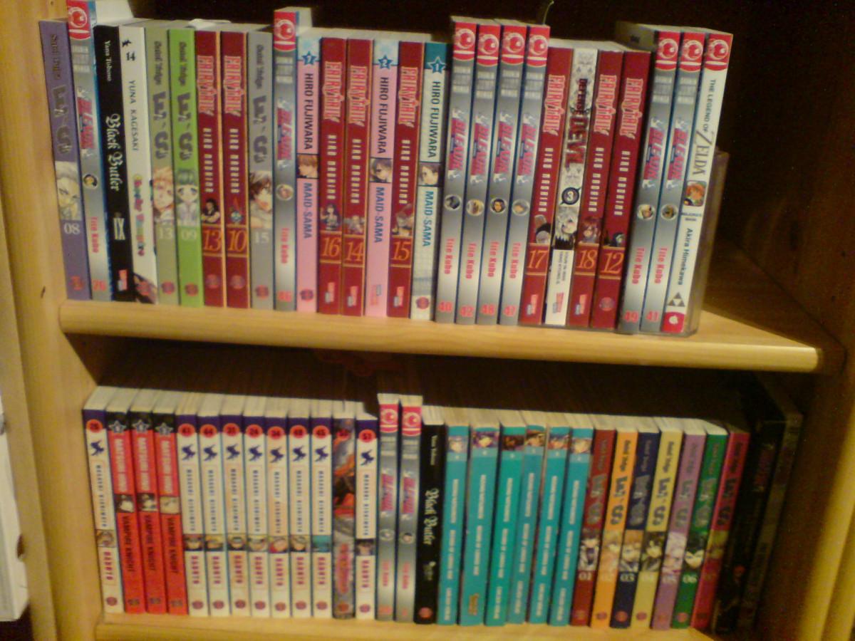 meine kleine  manga ecke :  D