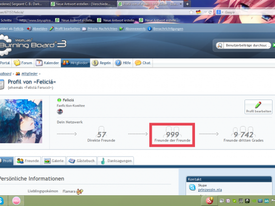 999 Freundes-Freunde!