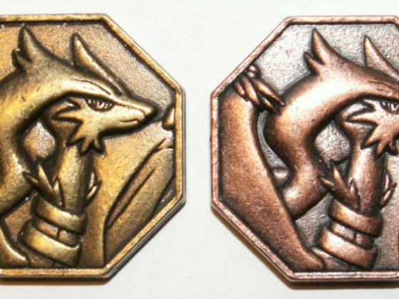 Reshiram Coins