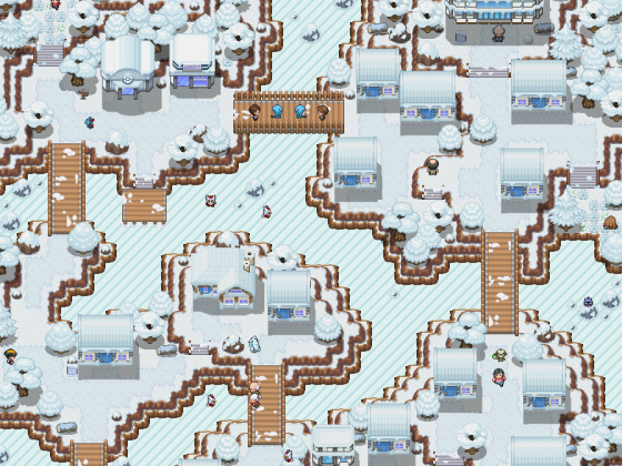 Random Icy Town