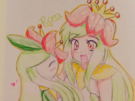 Fanart Nummer 10: Prinzessin Flora