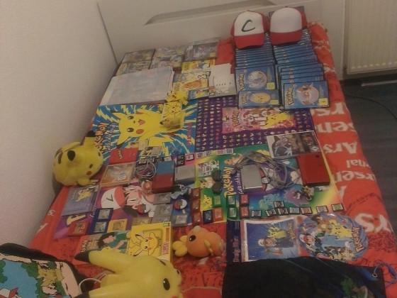 Meine PokéMoN-Sammlung (diesmal mit Caps) *-*