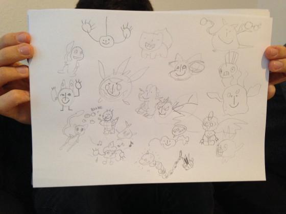 Welches Pokémon zeichne ich?