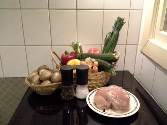 gesunde Küche!