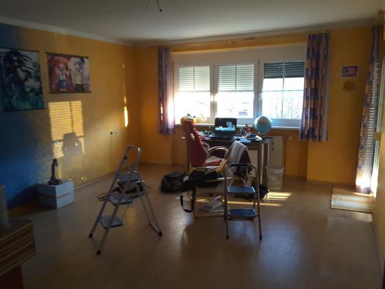 Letztes Bild meines alten Zimmers