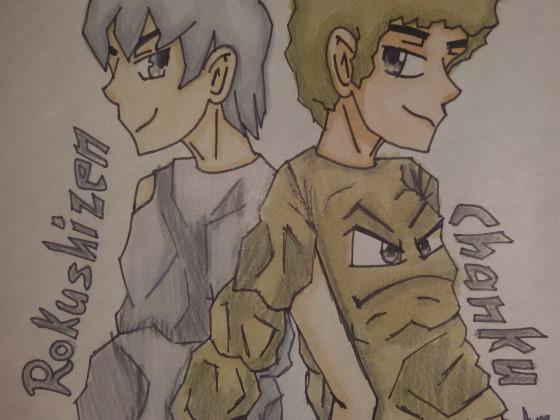 Rokushizen und Chanku - Steinhartes Team