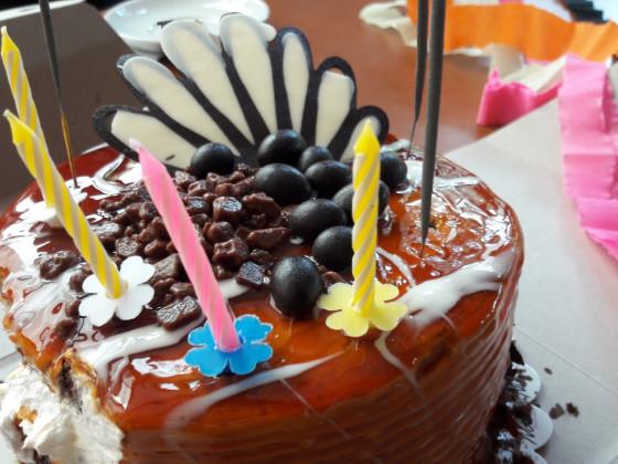 Geburtstagstorte aka Kalorienbombe
