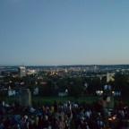 Vor dem Feuerwerk