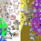 Alle Pokémon aus der 1.Generation im Grössenvergleich