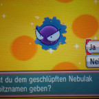 Mein Shiny Nebulak
