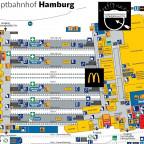 Skizze des Hamburger Hauptbahnhofes