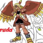 Garudamon Human