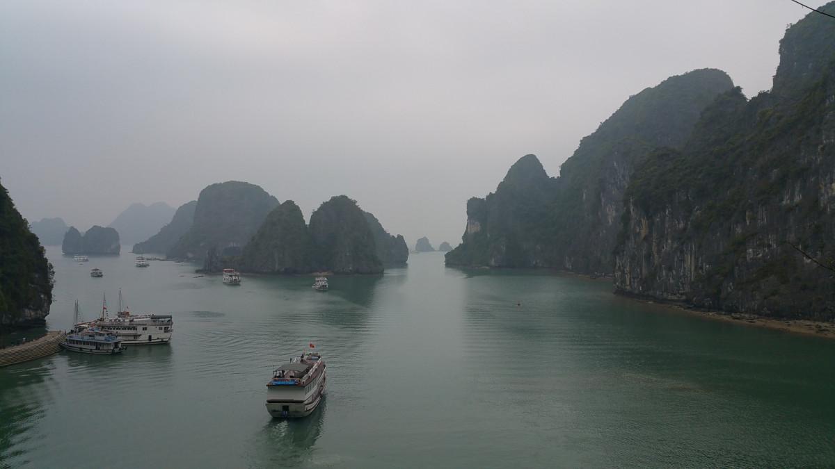 Halongbay in Vietnam