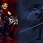 Cloud n Sephiroth Kingdom Hearts style